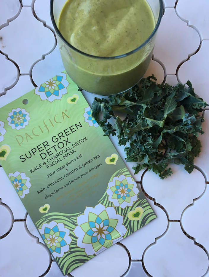 super green detox face mask